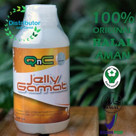 Qnc Jelly Gamat Luxor jelly gamat qnc original