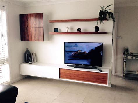 floating wall units for living room living room floating tv wall unit contemporary living room sydney by goldenwood furniture