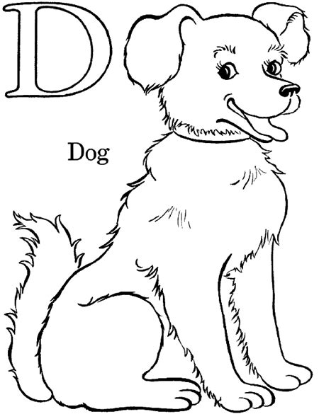 letter d coloring pages free printable coloring pages