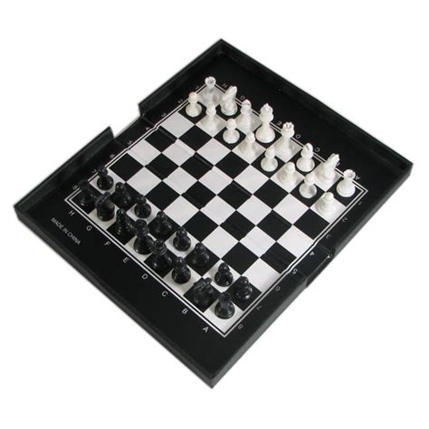 magnetic chess 6 1 2 quot compact magnetic chess set your move chess games