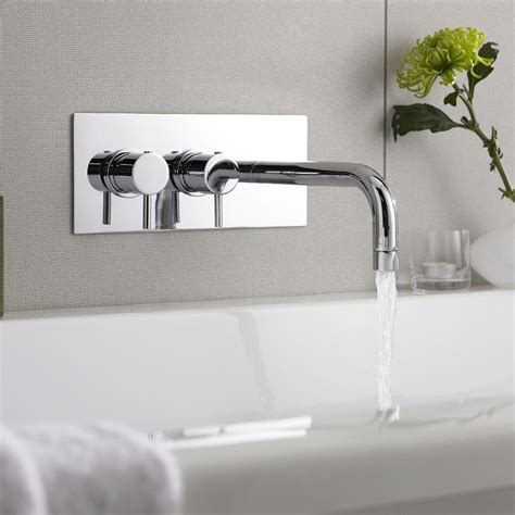 modern wall mount tub filler 12 best images about small bath modern tub fillers on