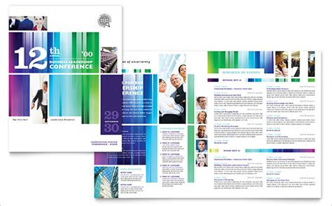 workshop brochure template 18 conference brochure templates free psd eps ai
