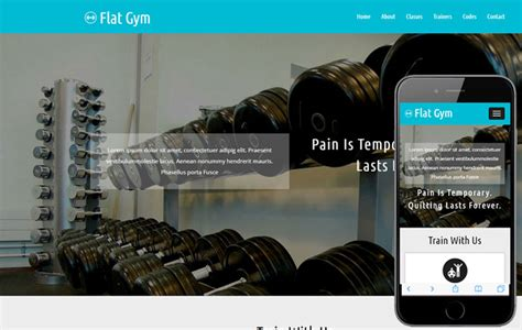 bootstrap templates for gym 10 bootstrap fitness gym website templates designerslib com