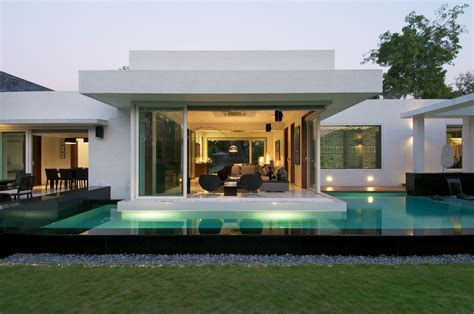 indian bungalows photos minimalist bungalow in india idesignarch interior