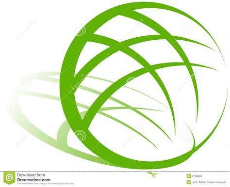 conservation through green building design earth habitat earth green logo stock photos image 9760003