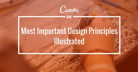 design elements canva design elements and principles of canva infographic