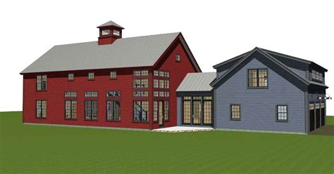 open beam house plans contemporary post and beam the bancroft open floor beams and barn