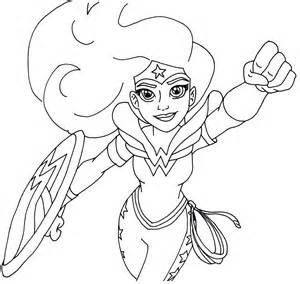 free printable super hero coloring pages woman super hero coloring