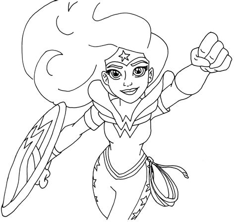 printable heroes lady of pain free printable super hero high coloring pages wonder