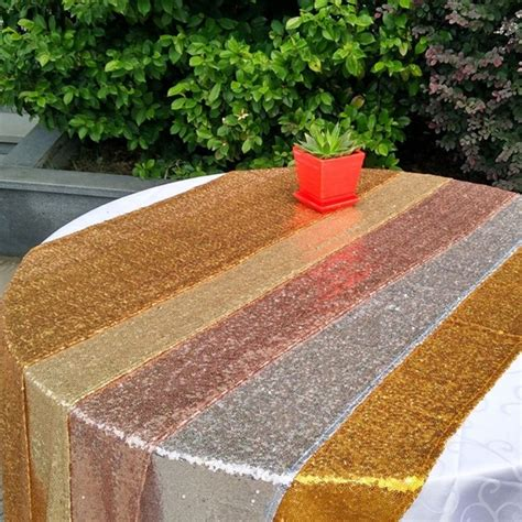 gold table runner cheap tablecloths stunning sequin table runner wholesale sequin