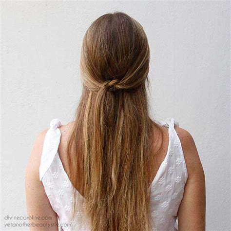 hairstyles for straight hair half up 31 amazing half up half down hairstyles for long hair