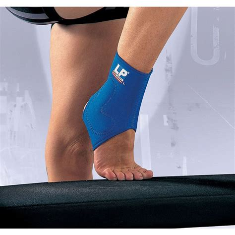 Lp Support Adjustable Ankle Uk M Lp 768 200000272 lp neoprene ankle support with silicone pad sports supports mobility healthcare products