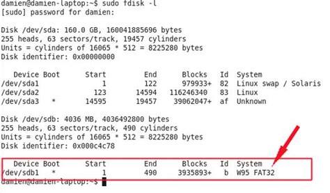 format fat32 mkfs how to boot install ubuntu ibex from a usb thumb drive