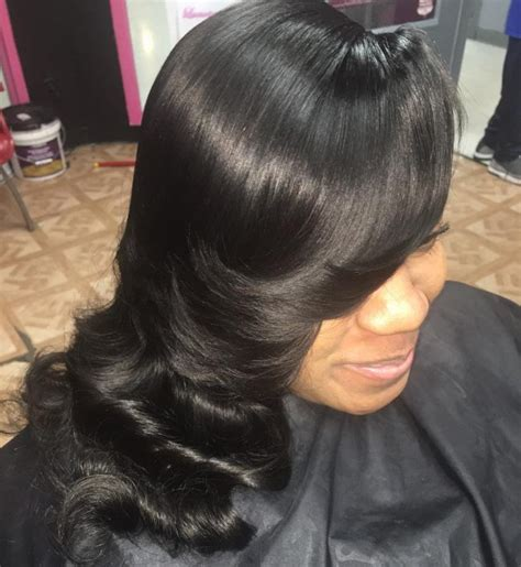 back hair sewing hair styles 25 fabulous sew in hairstyles new life of your hair