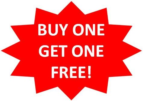 Buy One Get One buy one get one free is this for business vet