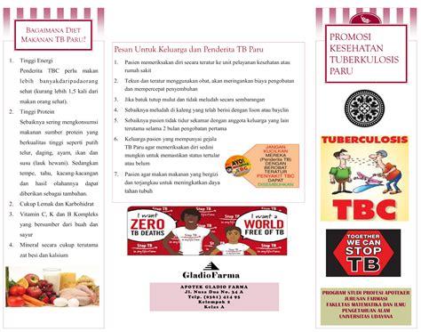 contoh format askep tb paru promosi kesehatan quot tuberkulosis paru quot