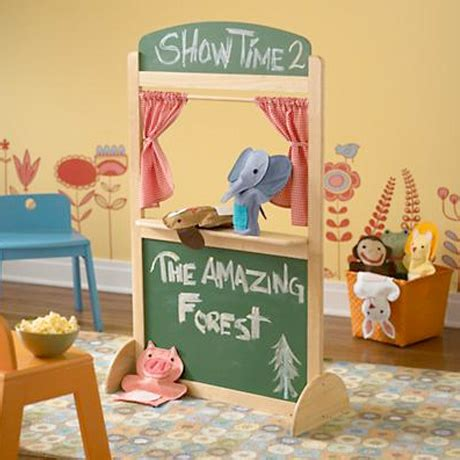 Handmade Puppet Theatre - gifts for 4 8