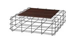 table basse leoben en m 233 tal noir plateau bois mobilier moss