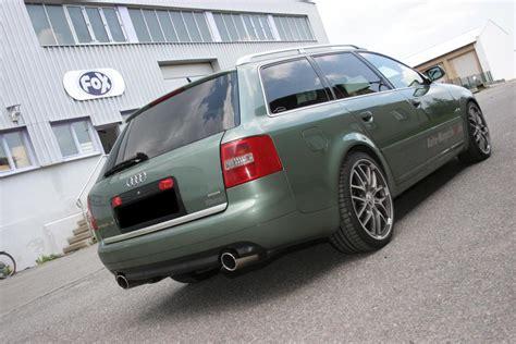 Audi A6 4b Sportauspuff by Fox Duplex Sportauspuff Auspuff Audi A6 4b C5 Avant