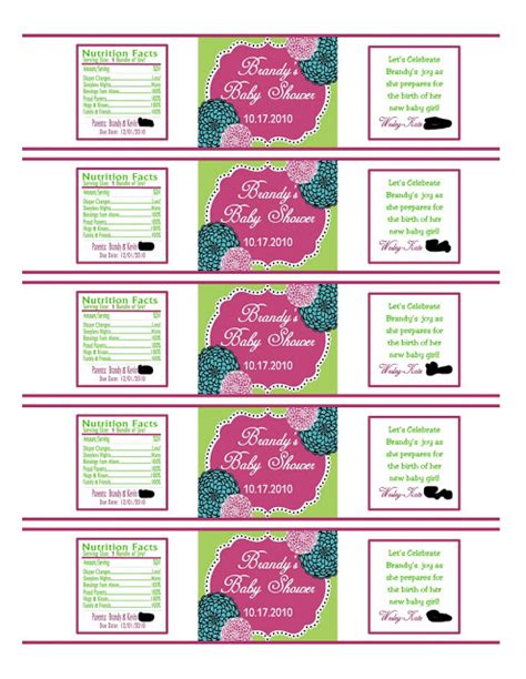 free custom water bottle labels template southern inspirations how to make water bottle labels