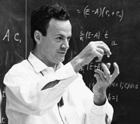 Feynman Thesis F Is For Richard Feynman