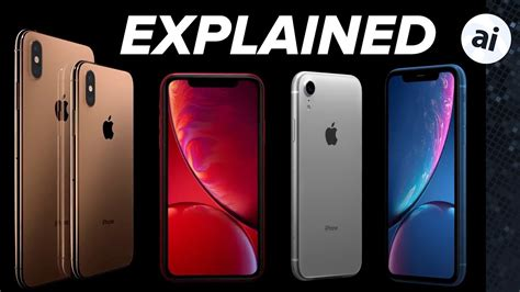 iphone xs xs max and xr explained in 6 minutes