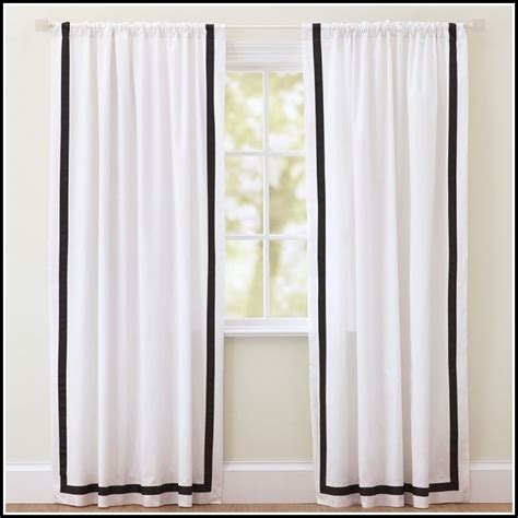 black white kitchen curtains off white curtains with black trim curtains home