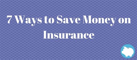 7 Ways To Save Money Out by 7 Ways To Save Money On Insurance Lendedu