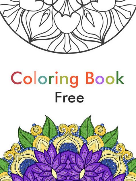 app shopper color therapy pages flower coloring