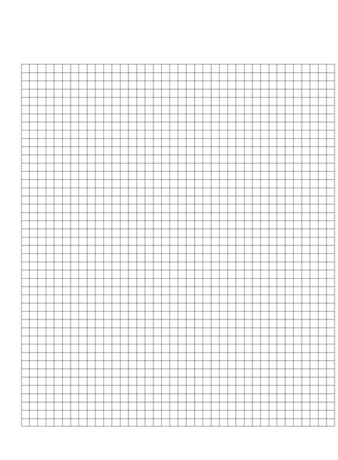 printable graph paper cm half centimeter graph paper template free download