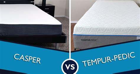 Where To Test A Casper Mattress - casper vs tempurpedic mattress review sleepopolis