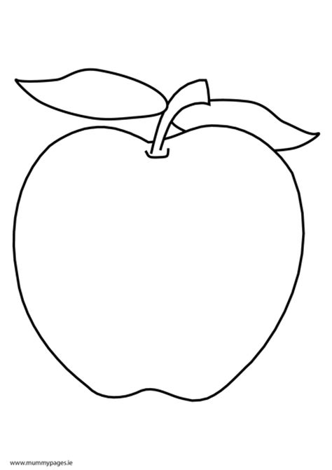 apple coloring pages pdf apple colouring page mummypages mummypages ie
