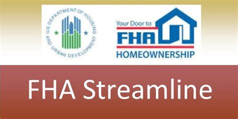 Mortgagee Letter Fha Streamline Refinance Mae Capital Mortgage Inc Real Estate Services Home Loans Real Estate Sales