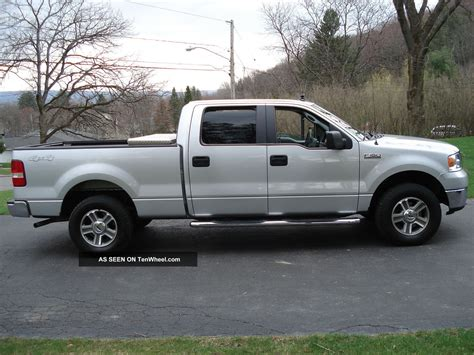 2007 ford f 150 xlt extended cab 4 door 5 4l