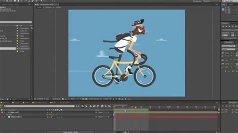 tutorial after effects duik animate a cyclist in ae using duik tools lesterbanks