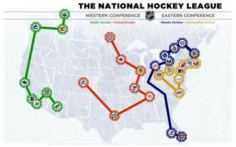 nhl map 31 team nhl the home of the nhl realignment project the home of the nhl realignment project