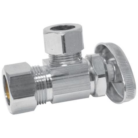 Eastman Plumbing Supplies by Eastman 1 2 In Fip X 1 2 In Compression Angle Stop Valve