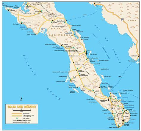 baja california sur map baja california sur maplets