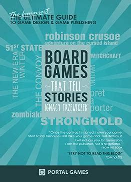game design books pdf boardgames that tell stories the funniest guide to game