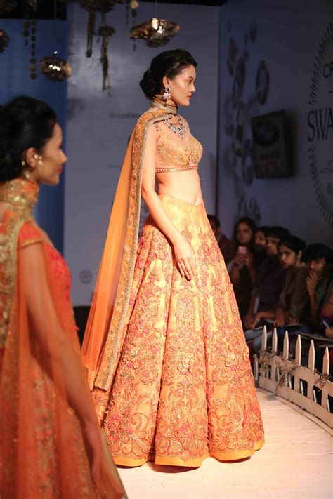bridal fashion week fashion designer sulakshana monga creates a buzz at bmw