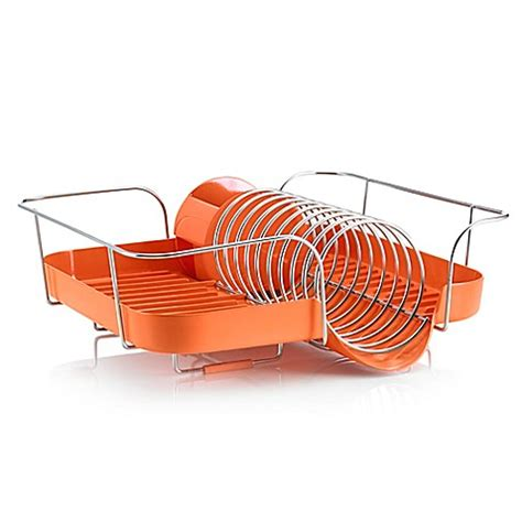 bed bath and beyond dish rack buy polder spring dish rack in white from bed bath beyond