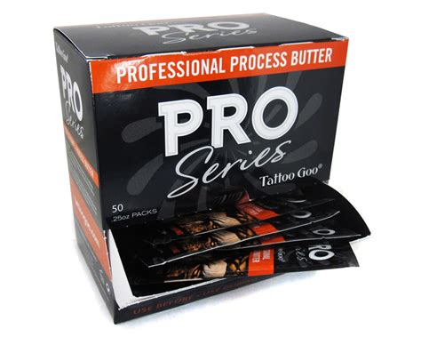tattoo goo pro butter pro series packets 0 25oz tattoo goo tattoo