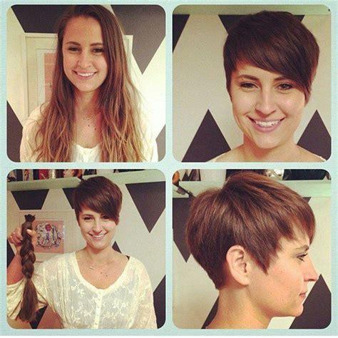 great pixie haircut makeovers las 25 mejores ideas sobre pelo fino corto en pinterest y