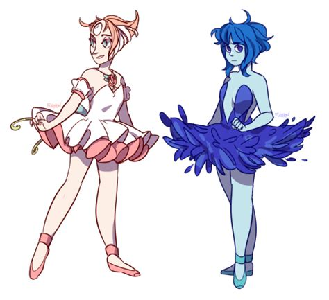 Lapis Tutu pearl and lapis lazuli in ballet dresses su steven