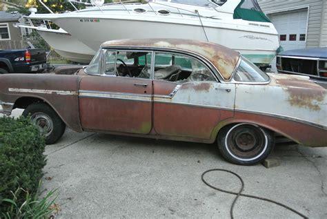 1956 Chevrolet 4 Door Hardtop For Sale by 1956 Chevrolet Bel Air 4 Door Hardtop With Factory Ac And