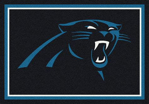 Sports Rugs Cheap by Milliken Nfl Spirit 00914 Carolina Panthers Team Area Rug