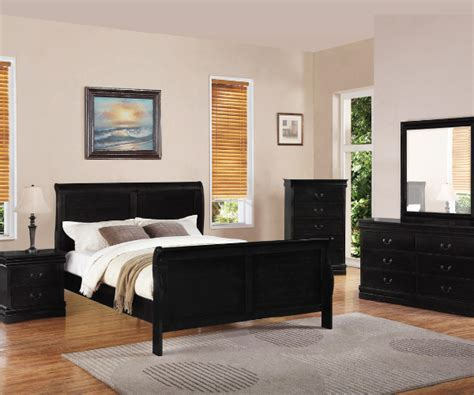 black bedroom suite double black louis phillips bedroom suite