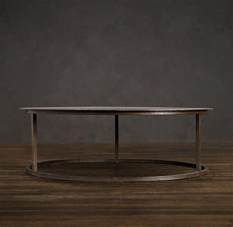 restoration hardware round coffee table mercer round coffee table alex s honey do s pinterest