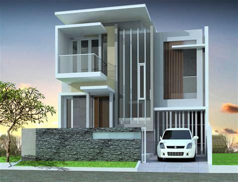 tampak depan rumah minimalis desain rumah sederhana