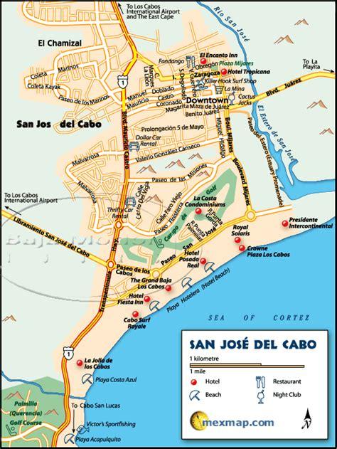 san jose cabo map mexico los cabos baja map los cabos baja mexico maps los cabos